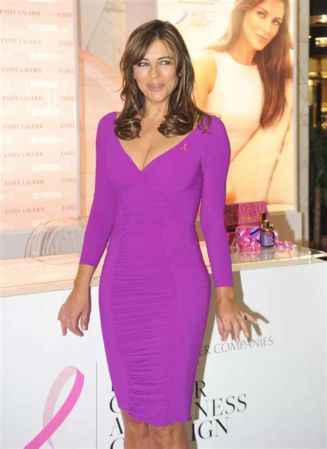Which Elizabeth Hurley Breast Cancer Pink Frock Is Most Fab by Elizabeth Hurley In Tight Pink Dress At Breast