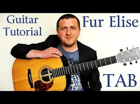 fur elise guitar tutorial fur elise guitar tutorial beethoven a slow and easy