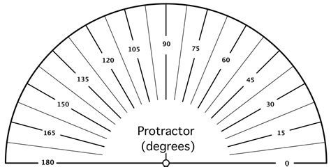 printable protractor related keywords printable