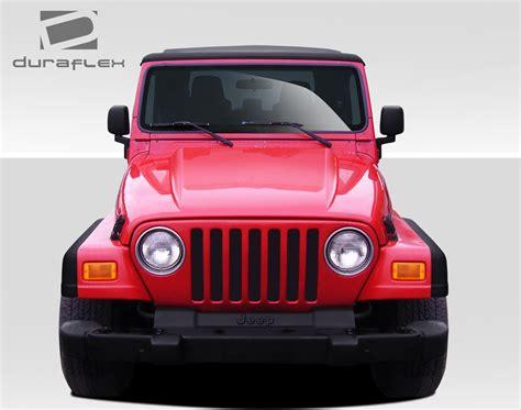 Jeep Cowl 97 06 Jeep Wrangler Cowl Duraflex Kit 109289