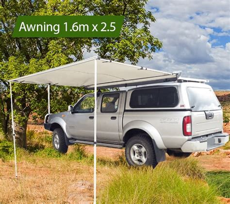 4wd Pull Out Awning by 1 6 X 2 5m Awning Roof Top Tent Cer Trailer 4wd 4x4