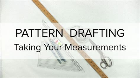 pattern making introduction an introduction to flat pattern drafting how to take