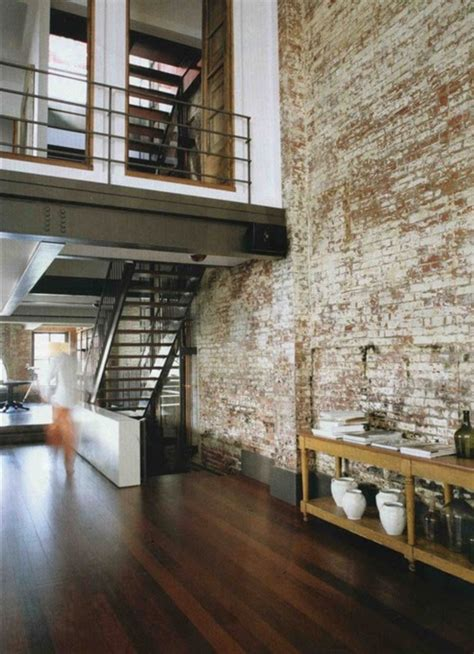 exposed brick apartments facebrick feature wall loft inversion industrial