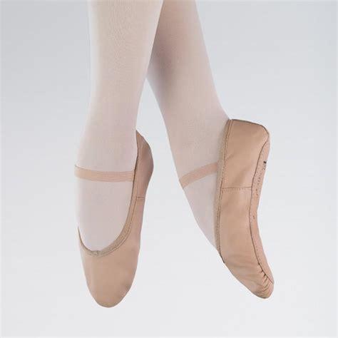 Balet Shoes 1 1st position pink leather ballet shoes dazzle dancewear ltd
