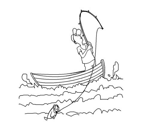 Coloring Pages Of Fishing Boats by 21 Printable Boat Coloring Pages Free