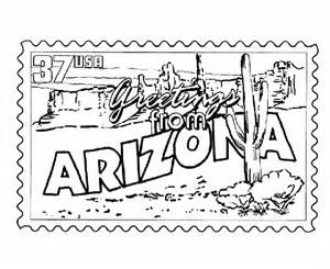 az coloring pages usa printables arizona state st us states coloring pages