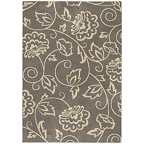 orian rugs carolina collection orian carolina fleece collection abby rugs in grey bed bath beyond