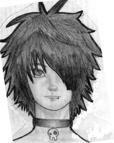 dibujos de emos tristes a lapiz como dibujar