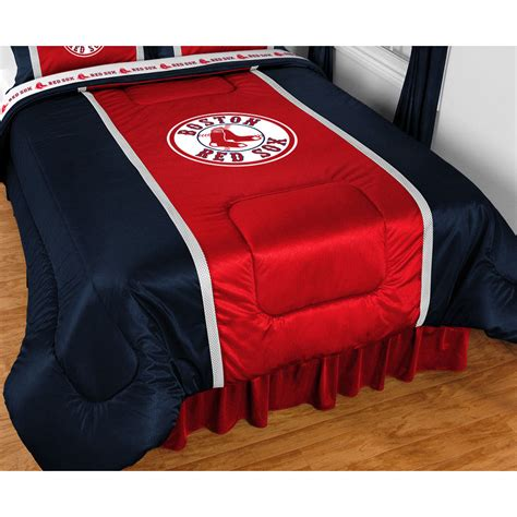 boston store bedding boston red sox twin comforter mlb baseball sidelines bed