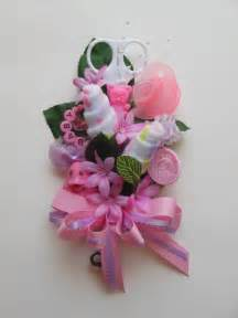 Corsage For Baby Shower by Baby Shower Corsage Baby Washcloth Corsage Reusable