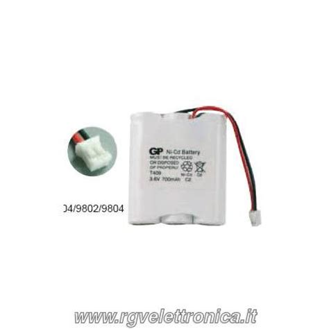 Battery Ni Cd Aa 700mah 3 6v batteria cordless ni cd aa 3 6v 700mah panasonic kx t3806