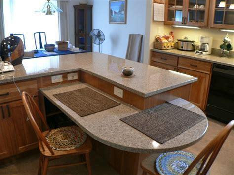 Seating Peninsula Kitchen Remodel   New Prairie Construction