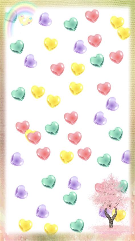 gambar wallpaper iphone 7 hati berwarna wallpaper sc iphone7