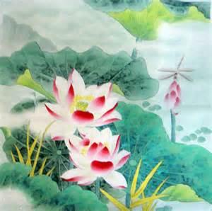 Lotus Chines Painting Lotus Painting Cnag234412