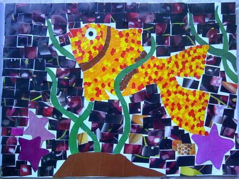 Photo Mozaik Bentuk pengertian contoh dan unsur karya seni rupa 2 dimensi ruang