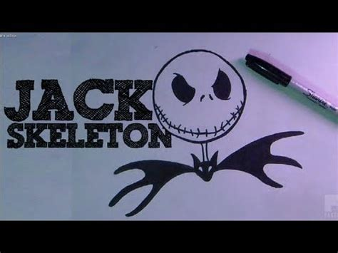 imagenes extraño mundo jack para colorear como dibujar a jack skeleton hd by zaxx youtube