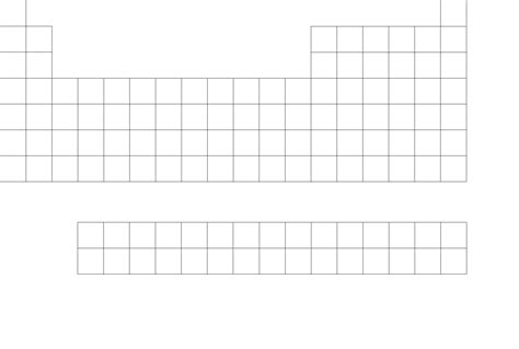 blank periodic table tables graph paper rissberger s realm