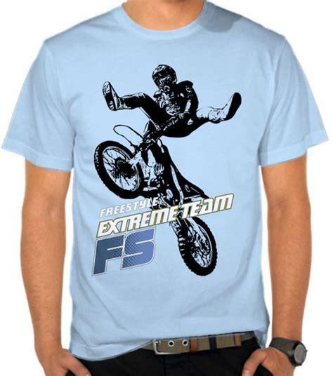 Kaos Otomotif Piaggio Logo Unisex jual kaos motcross freestyle motor motocross