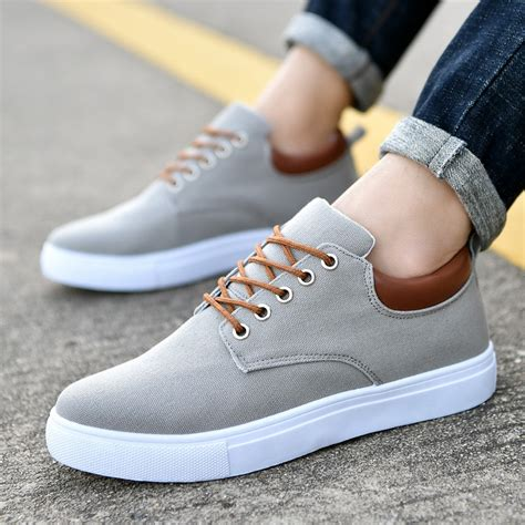 new arrival summer comfortable casual shoes mens canvas shoes for lace up brand
