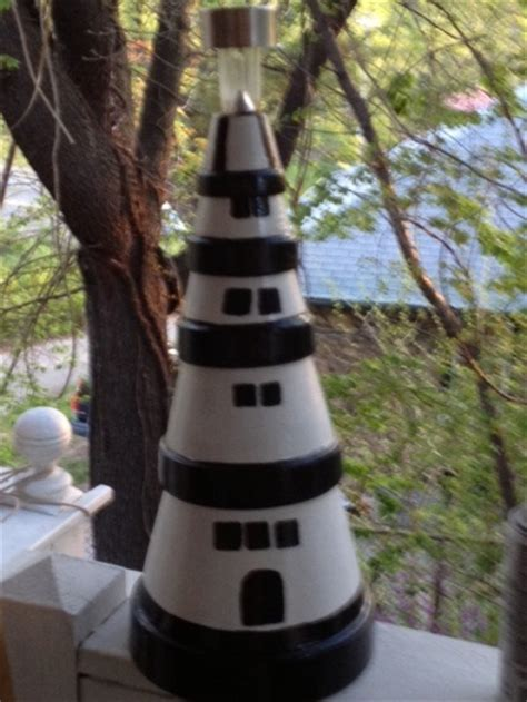 lighthouse craft project 127 best images about terra cotta crafts on