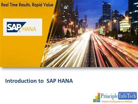Sap Hana Sap Hana Databasee Introduction To Saphana Authorstream Sap Powerpoint Template
