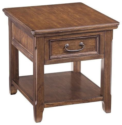 ashley accent tables ashley woodboro end table dark brown side tables and