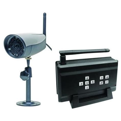 q see 4 channel wireless surveillance system with 1 400