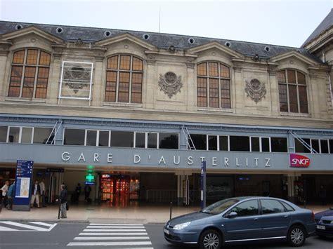 gare d austerlitz wikidata r 233 servation de taxis pour la gare d austerlitz