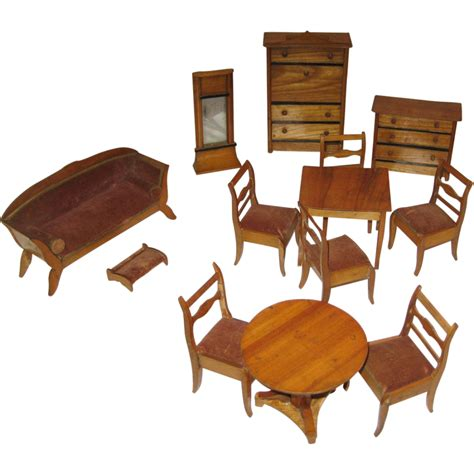 s w crafts dollhouse miniature dollhouse furniture antique german kitchen wood