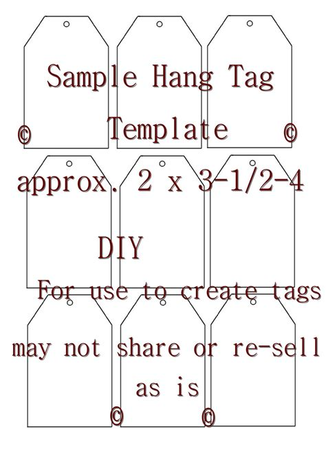 printable hang tags free unavailable listing on etsy