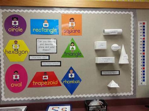 printable shapes for bulletin boards 125 best kindergarten math shapes images on pinterest