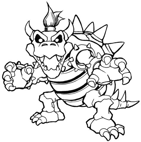 mario coloring pages bowser jr bowser coloring bowser coloring pages dry bowser mario
