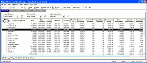 fixed asset register excel template asset register template excel free ggoaj awesome 4 best of