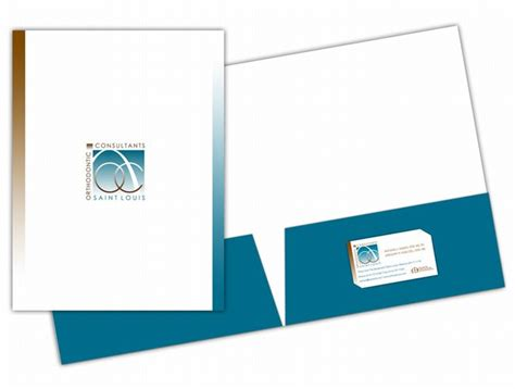 two pocket folder template business card pocket folders best business cards
