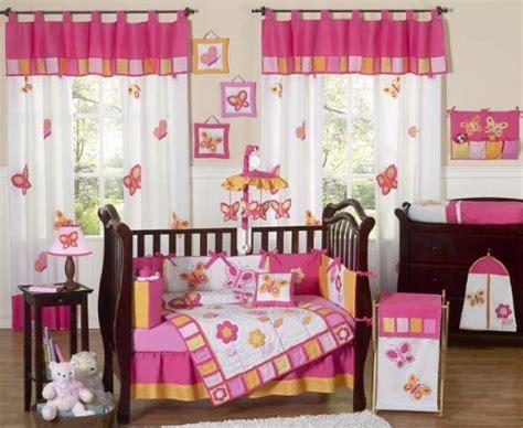 Sweet Jojo Designs Butterfly Pink And Orange Crib Bedding Orange And Pink Crib Bedding