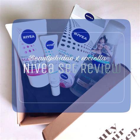 Make Up Caring beautiful with beautyshidae nivea make up care set