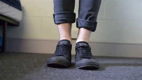 All Hitam jual sepatu converse all hitam grade ori