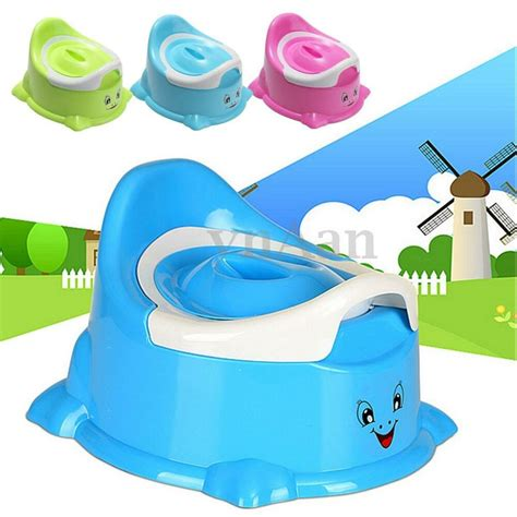 portable cartoon potty toilet chair seat baby toddler