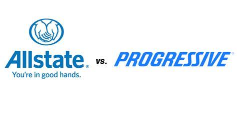 allstate vs progressive auto insurance everquote