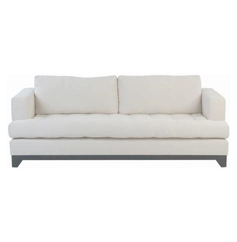 ivory couch riom modern loft french country tufted cushion backed