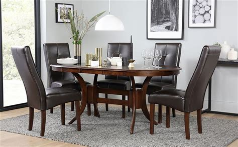 townhouse oval extending wood dining townhouse oval wood extending dining table and 4 chairs set logan brown only 163 499 99