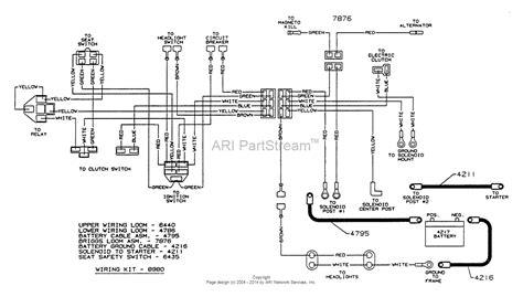 Lawn Mower Wiring Diagram Webtor Me