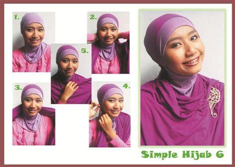 tutorial hijab menggunakan anting pompom atya asriyanti inayatullah tutorial pompom bros