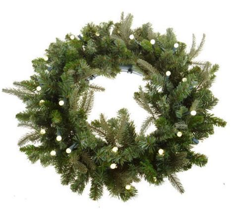 bethlehemlights batteryoperated 26 inch pre lit wreath