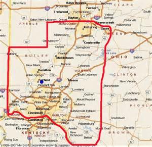Map Of Southwest Ohio map of southwest ohio world map 07
