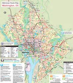 Big Bus Washington Dc Map by Wmata Makes New Diagrammatic Bus Maps Greater Greater