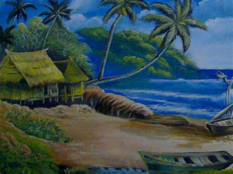 Lukisan Realis seni rupa realis lukisan alam