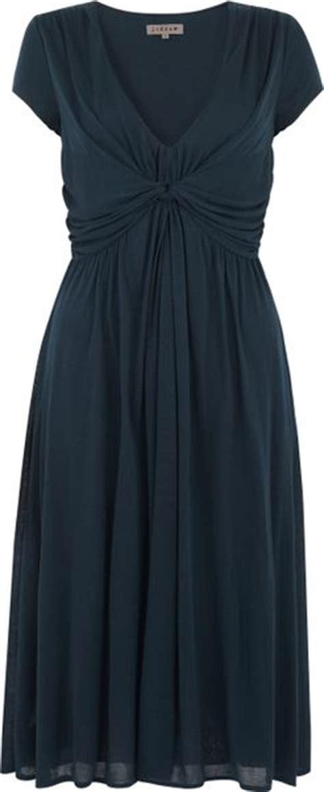 jigsaw design clothes jigsaw jigsaw cap sleeve knot dress dark teal in blue