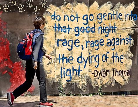 Rage Rage Against The Dying Of The Light Meaning by Rage Against The Dying Of The Light Lo Flickr Photo