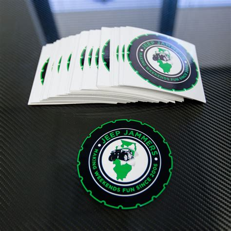 Custom Jeep Stickers Custom Die Cut Stickers And Decals